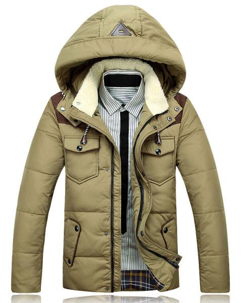 Бесплатная доставка мужская мода Марка пуховик зима мужская утка пуховик мужская повседневная спортивная куртка мужчины с капюшоном пальто 73 140
