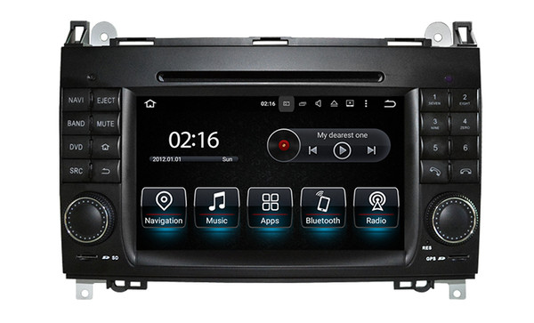 OCTA CORE ANDROID9.0 Car DVD For Mercedes Benz Sprinter W169 W245 W906 Viano Vito W639 3G WIFI GPS Navigation Radio