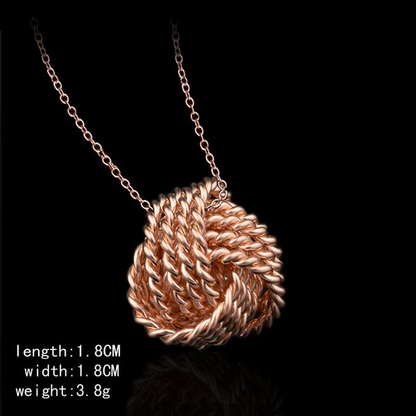 Wholesale sale gold plated pendant necklace female 925 silver 10pcs gold plated pendant necklace female 925 silver jewelry japan and south korea style mozeypictures Images