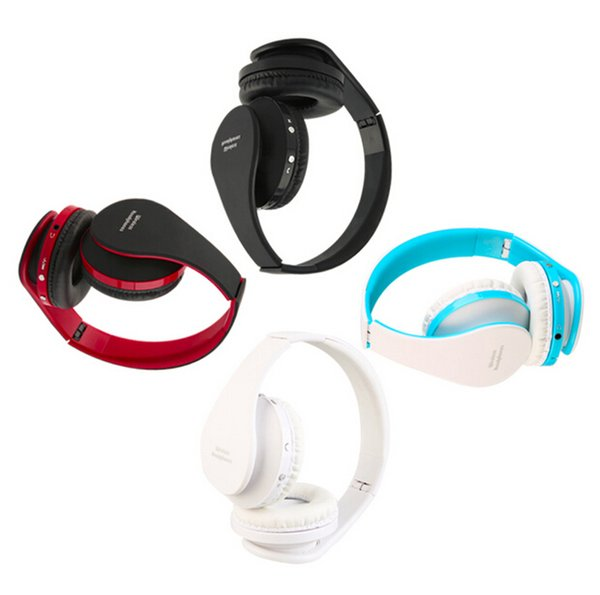 High Quality Foldable Wireless Bluetooth Headset Stereo Over Ear Headphone Earphone Hot Promotion 3 Optional Colors