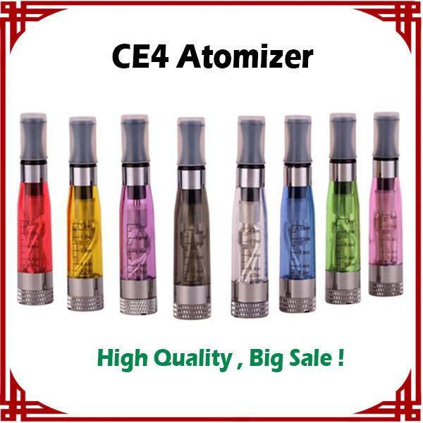 [ big sale ] CE4 Atomizer vaporizer ce4 Electronic Cigarette Clearomizer with Long wick 1.6ml adapter all ego-t ego w vs mt3 atomizer
