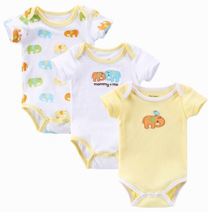 a99f46b8ddae 2019 Carters Baby Rompers Cut 100%Cotton O Neck Unisex Bodysuit Baby ...