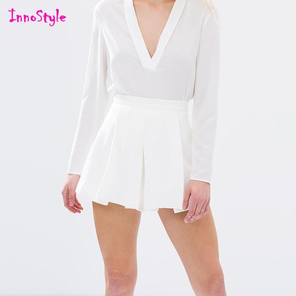 White Dressy Shorts