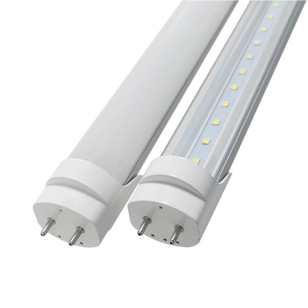 Tubo de LED T8 G13 6 pies 1800 mm Bombillas LED T8 de 6 pies Cálido Fluorescente Blanco 6500K Lámpara SMD2835 AC85-265V