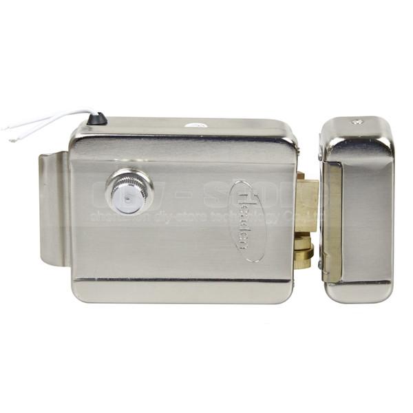 DIYSECUR NO Modèle Système de sécurité de serrure de porte à serrure électronique pour Veideo Système de contrôle d'accès pour sonnette de porte