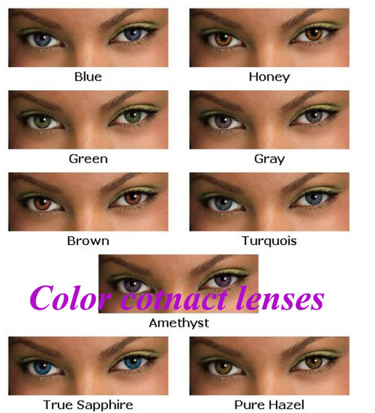 3 Tone Hot Sale Contact Lens High Quality Color Contact Lenses ...