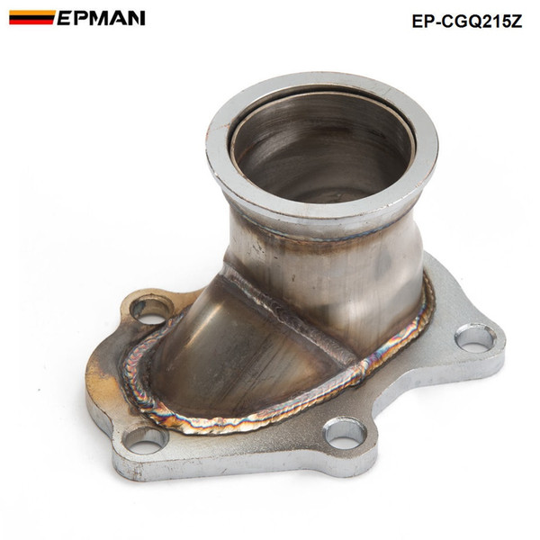 "EPMAN - 5 bolt to 2.5"" 63mm TD04 Turbo Conversion Adaptor To exhaust Down Pipe For Subaru EP-CGQ215Z"