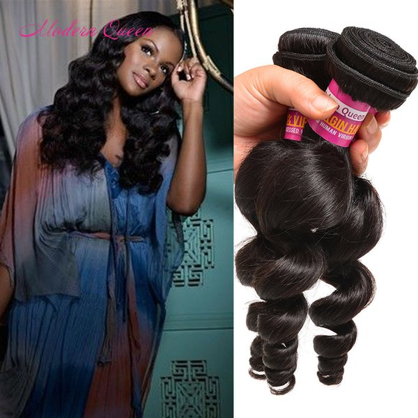 Malaysian 3 Bundles Loose Curly Hair Extension Natural Unprocessed