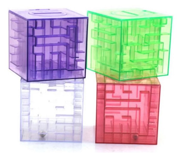 MONEY MAZE coin box puzzle gift game prize saving bank educational toys Science & Discovery Free shipping