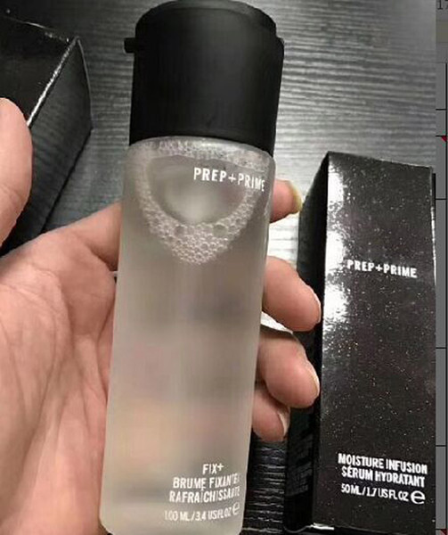 top popular M@C Prep+Prime Fix+ Brume Fixante Rafraichissante 100ml Fixer Finishing Setting Spray Long lasting DHL shipping 2020