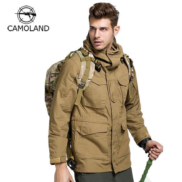 Hoodie Coat Military Tactical Jacket Men US Camouflage Bomber Jack Army Casual Outerwear Parkas Waterproof Windbreaker Warm Coat 2 orders