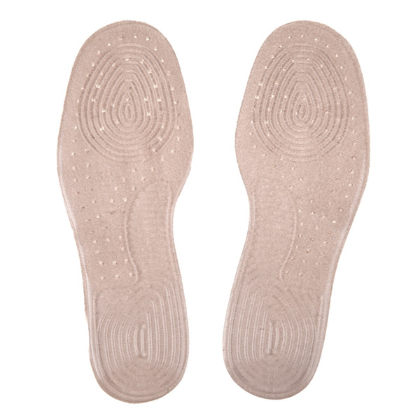 1Pair Silicone Breathable Sweat Absorption Shoes Insert Pads Running Sports Anti Shock Shoes Insole Cushion Pads
