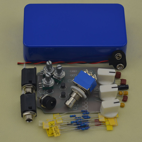 Build your own NEW DIY Blue Tremolo Pedal@DIY Tremolo Pedal Kit -DIY Guitar Pedal kit FREE SHIPPING