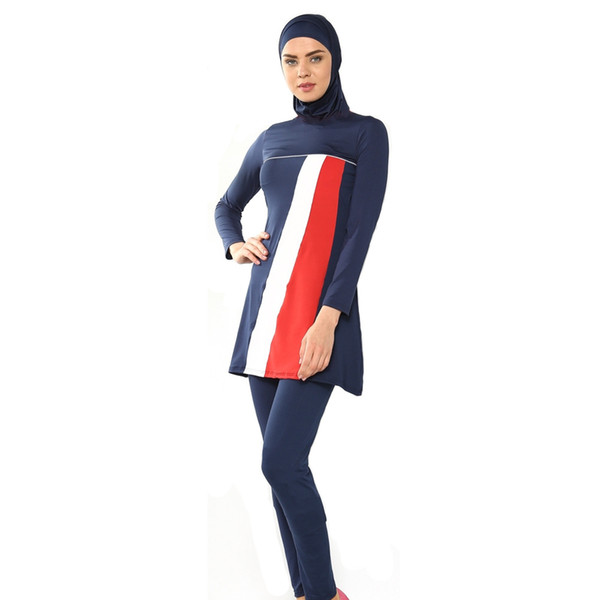 41fac78779 Modest Muslim Swimwear Islamic Swimsuit For Women Islamic Clothing Swim  Suit Muslim Hijab Bathing Suit Swimming Sc 1 St DHgate.com