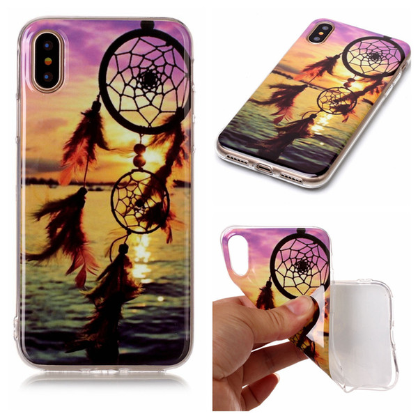 Strong TPU Cases For iPhone 8 Aeolian Bells Lion Camera Old Tap National Elephant Game Handle Owl America Flag Gorilla Panda