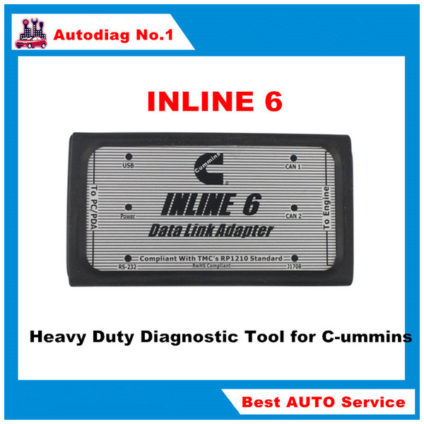 For Cummins INLINE 6 Data Link Adapter For Cummins Insite Heavy Duty  Diagnostic Tool For Cummins Insite Scanner Diagnostic Auto Codes Diagnostic  Auto