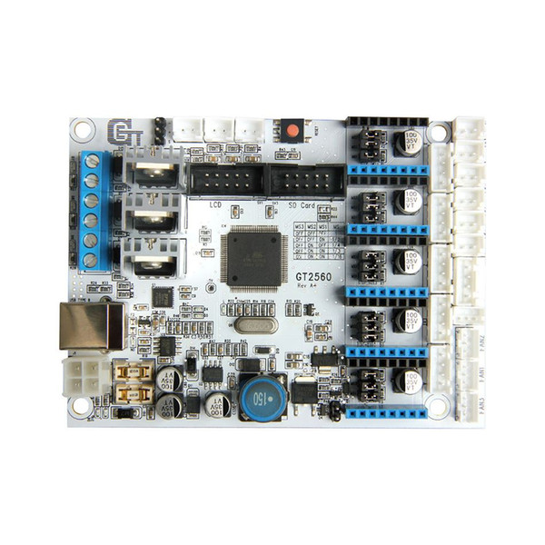 Freeshipping Geeetech Newest Version GT2560 3D Printer Motherboard Control Board 12-24V