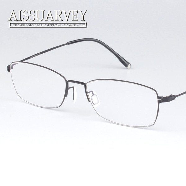 783181f98b Wholesale- Vintage classic Full rim pure titanium optical prescription clear  eye glass eyeglasses frame for man and women ultra light
