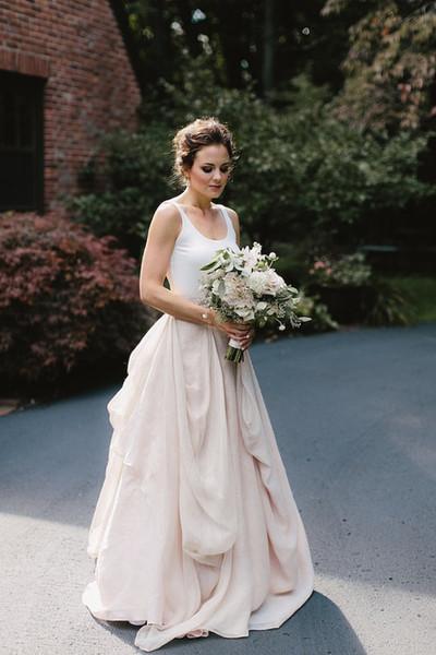 Discount 2018 Hot Sale Designer Trade Chiffon Wedding Skirt With