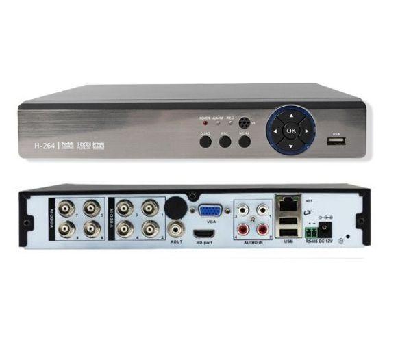 Н. 265 простой операции 6 в 1 8-канальный 5М-Н или 1080p Эн-ч видеорегистратор DVR видеокарта XVR видеонаблюдения с разрешением 1080p гибридный рекордер безопасность камера ONVIF интерфейс RS485 Coxial контроль P2P облако