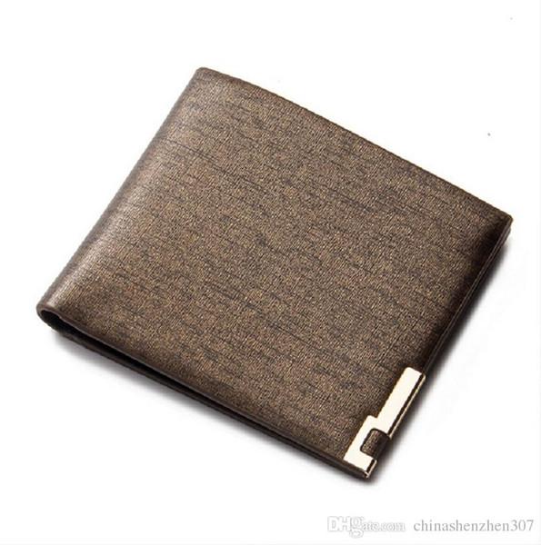 2016 baellerry billetera de los hombres carteras de marca famosa cartera de negocios monedero titular de la tarjeta hombres bolsa de dinero cartera hombre 86