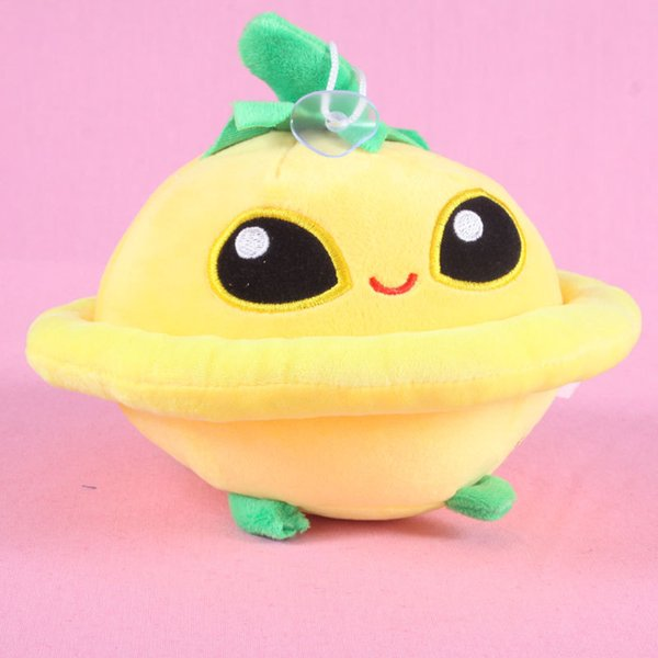 Wholesale- Newest 13-20cm Cute Plant Vs Zombies Plush Toy Plant UFO Plush Toys Dolls For Kids Gift
