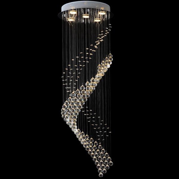 vallkin moderne lster kristall kronleuchter beleuchtung befestigung treppenhaus led pendelleuchten lampe fr foyer esszimmer restaurant - Kronleuchter Fur Foyer