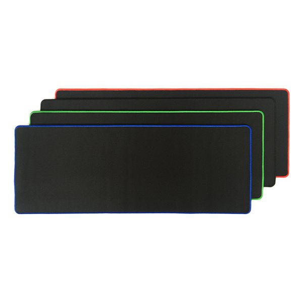 Rakoon 30*80CM Large Gaming Mouse Pad All Black-faced Red/Blue/Black/Green Lock Edge Rubber Speed Mouse Mat For PC Laptop