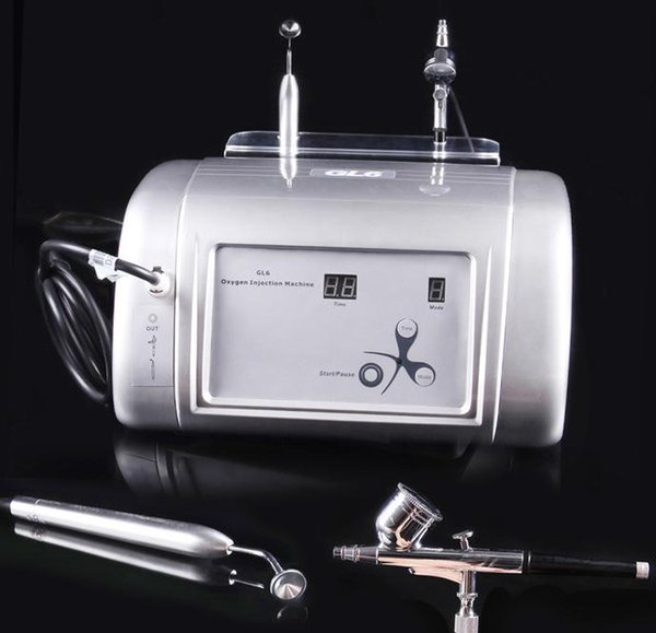 Nuovo misuratore di ioni di ossigeno acqua rimozione di comedone strumento di bellezza alta - ossigeno pressione - iniezione pelle tenera acqua