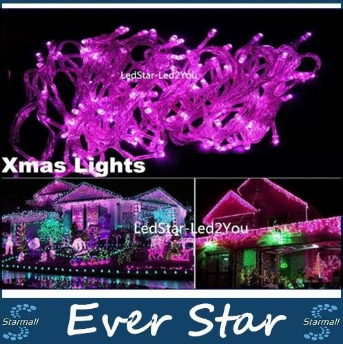 hot sale led string lights 10m 50m 100m led lights for christmas weddingparty