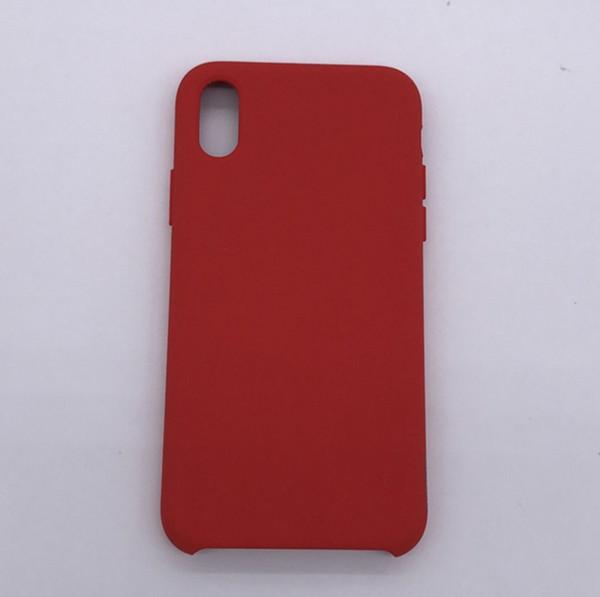 Custodia in silicone originale per iPhone XR Custodia in gomma siliconica liquida con custodie per iPhone xs max per iPhone x 8 Plus 6 6s 7 plus