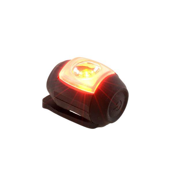 Wholesale-Silicone Schwarzes USB-wiederaufladbares hinteres Rücklicht-Rücklicht des rückseitigen Rücklichts für Fahrrad Fahrrad MTB, das im Freien dauerhaftes helles radfährt