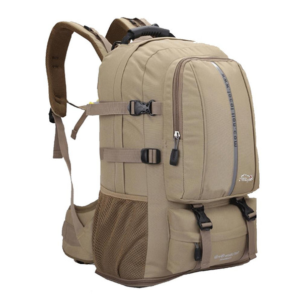 2656025b6653 35 55L Waterproof&Breathable Travel Backpack Hiking Climbing Camping  Backpack Outdoor Sport Bag In Men Casual Daypacks 26 Best Laptop Backpack  Wheeled ...