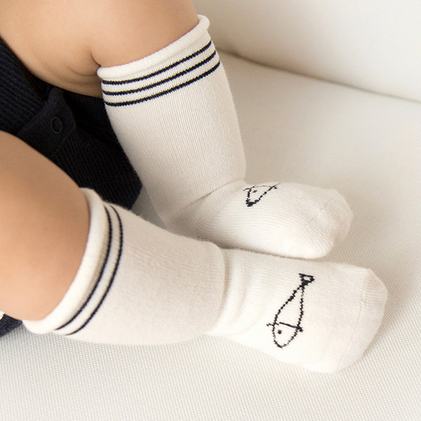 Cute 3pairs Newborn Infant Toddler Baby Winter Cotton Knee Socks 0-3 years