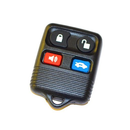 XQautopart old Brazil Positron Car Alarm Remote Key 433.92mhz for Ford 4 Button style with HCS300 chip BX051B 2pc/lot