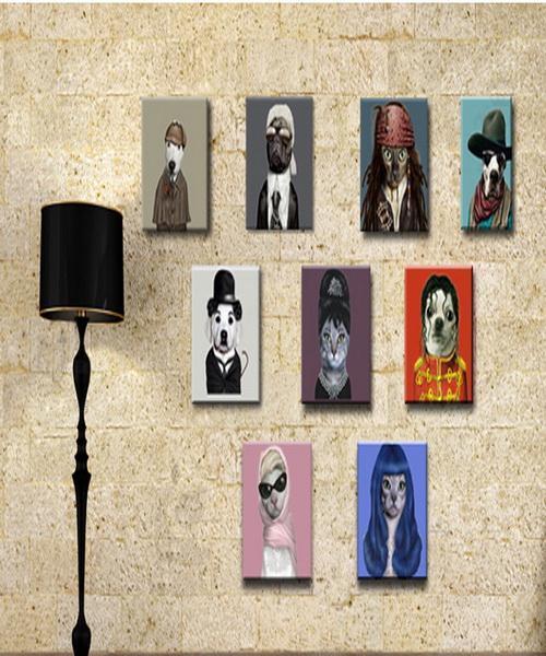 Acheter Moderne Salon Assis Suspend Les Peintures Murales Idées Européennes Parure Photo Meter Box Peintures Sans Cadre Aquarelle Art Poster De 12 88