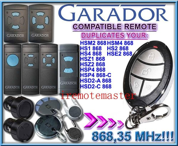 For NEW products! GARADOR automatic gate remote control GARADOR garage door opener GARADOR Garage door remote