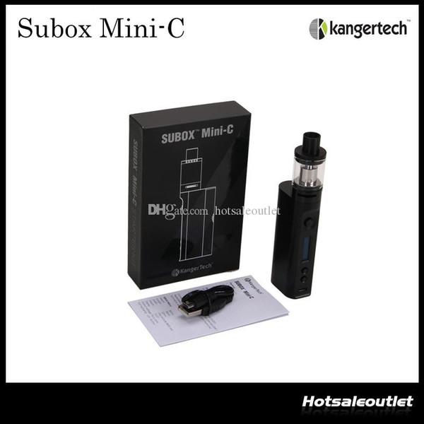 Authentic Kangertech Subox Mini-C Starter Kit W/O Battery with Kanger TC 50w KBOX Mini-C Mod and 3.0ml Protank 5 Atomizer 100% Original