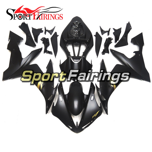 Full Injection Fairings For Yamaha YZF1000 YZF R1 Year 2004 2005 2006 ABS Plastics Motorcycle Black Gold Decals Cowlings New Body Kits Cover