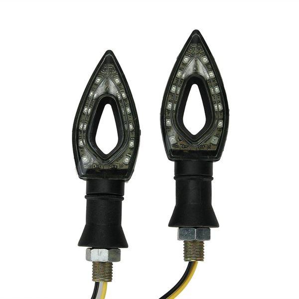 best selling Motorcycle LED Turn Signals Indicator Blinkers Light Lamp Lighting For Honda Suzuki Kawasaki Yamaha Standard Bike Cruiser