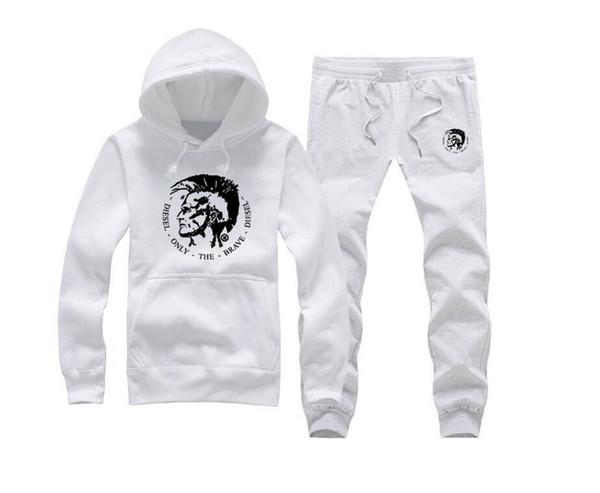 Hoodies Men Male Long Sleeve diese Tracksuit Pocket Sweatshirt Mens Moletom Masculino Hoodies Diamond Supply sweat suit (S-5XL)