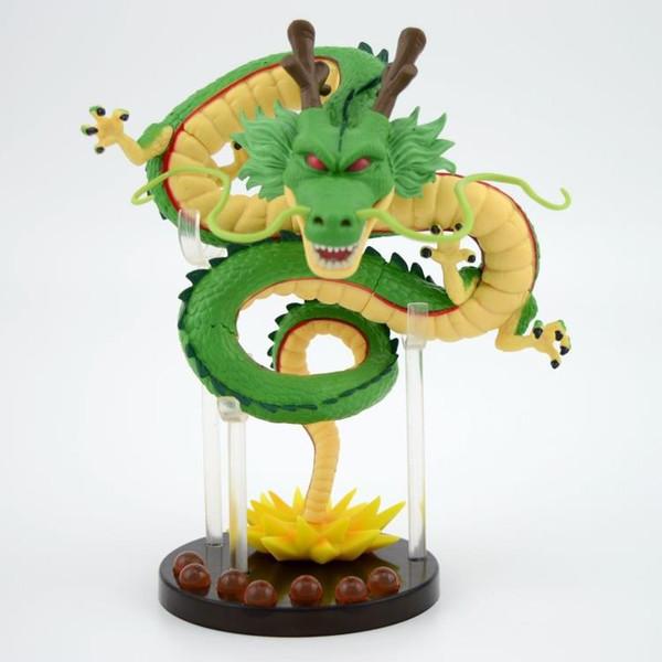 16 cm Dragon ball z ejderha heykelcik oyuncak 2016 Yeni Dragon ball z süper saiyan 3 aksiyon figürleri oyuncak Noel Hediyesi çocuklar için