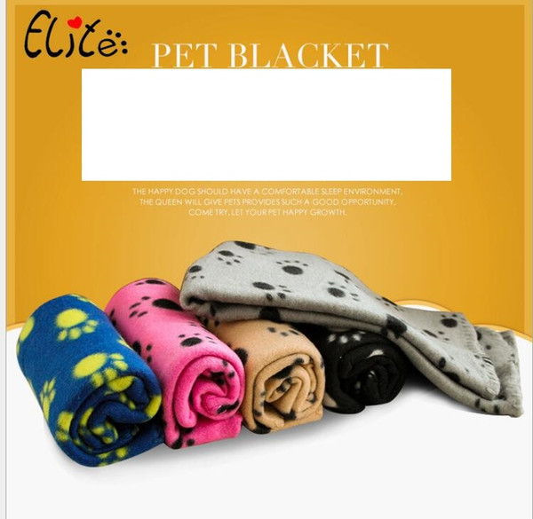 best selling Pet Supplies Dog Bed blankets Soft Warm Bed Blankets Double-Sided Available Cat Dog winter Blankets 60*70CM Dog fleece mat