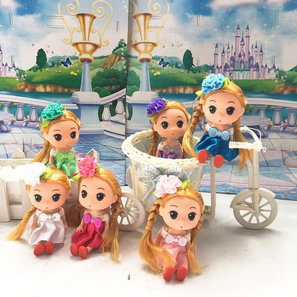 Variety of multicolor doll pendant children's day gift car pendant confused doll jewelry key chain wholesale DHL free shipping