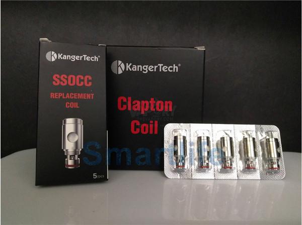 Best selling Kanger SSOCC Coils clone head 0.15 0.5 1.2 1.5ohm for Kangertech protank4 Nebox Subvod kit Topbox mini