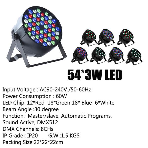 54*3W LED