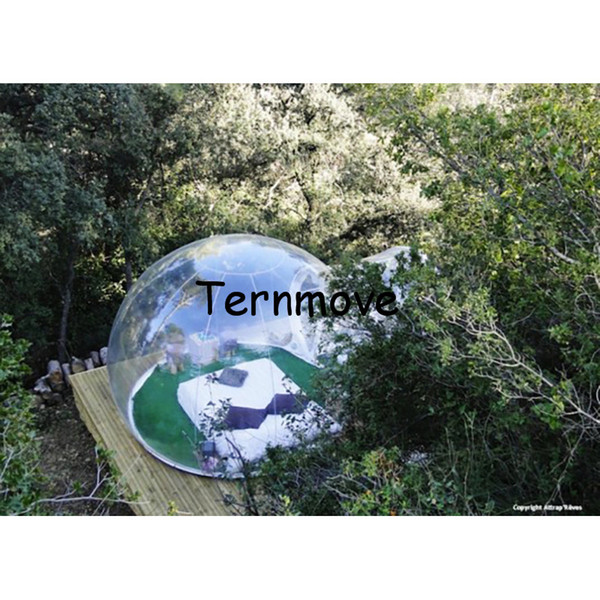 Transparent bubble tent convenient transparent inflatable sport tent for camping,outdoor trade show and event tents
