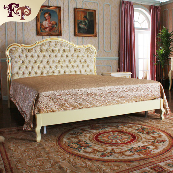 2019 European Luxury Bedroom Furniture French Royalty Bed Solid Wood Carved  Furniture With Gold Leaf Gilding From Fpfurniturecn, $959.8 | DHgate.Com