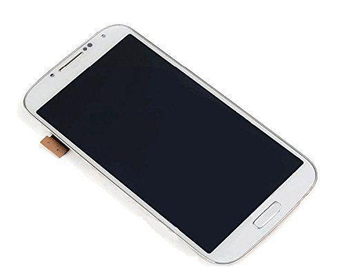no sumsang logo LCD Touch Screen Digitizer white For Galaxy S4 i337