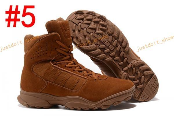 2017 GSG 9.3 Special Help Desert Tactics Men Climbing Hiking Combat Training Running Shoes Outdoor Tactical Boots Desert Boots Size 40 46 Jogging